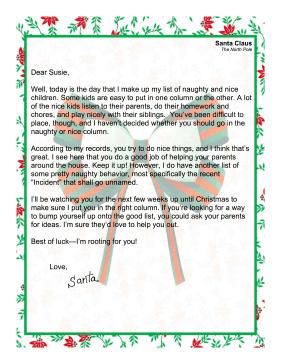 Printable santa list templates zrom printable santa list templates maxwellsz