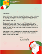 Letter from Rudolph