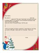 Letter to Santa Nice