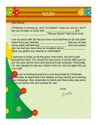 Santa Letter Accomplishments