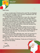 Letter from Santa to an Excited Child