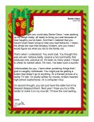 Santa Letter Naughty Adult