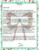 Letter from Santa Claus from the North Pole