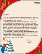 Santa Letter Not Sure What Want
