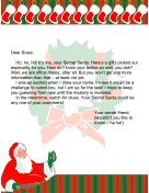 Secret Santa Letter Office
